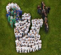 Projekt Firmenlogo eines Krankenhauses aus 150 Personen